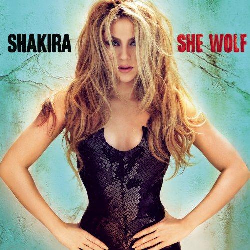 Shakira, She Wolf, Piano, Vocal & Guitar (Right-Hand Melody)