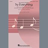 Download Shakira Try Everything (arr. Paul Langford) sheet music and printable PDF music notes
