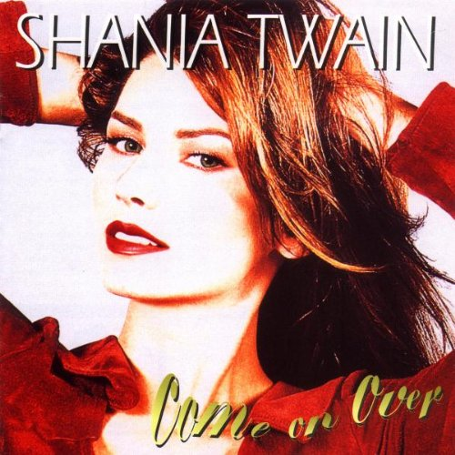 Shania Twain, Black Eyes, Blue Tears, Piano, Vocal & Guitar