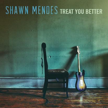 Shawn Mendes, Treat You Better, Piano, Vocal & Guitar (Right-Hand Melody)