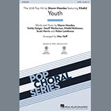 Download Shawn Mendes Youth (feat. Khalid) (arr. Mac Huff) - Bass sheet music and printable PDF music notes