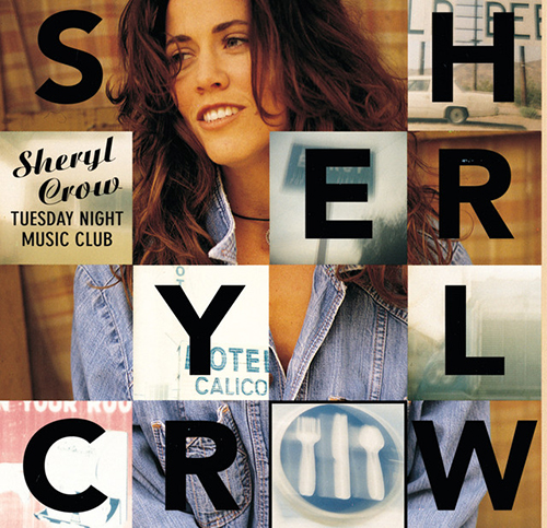 Sheryl Crow, All I Wanna Do, Piano, Vocal & Guitar (Right-Hand Melody)