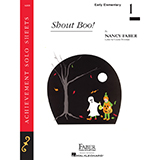 Download Nancy Faber 'Shout Boo!' printable sheet music notes, Children chords, tabs PDF and learn this Piano Adventures song in minutes