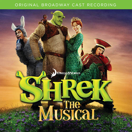 Shrek The Musical, I Think I Got You Beat, Piano, Vocal & Guitar (Right-Hand Melody)