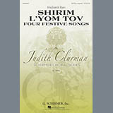 Download Shulamit Ran Four Festive Songs sheet music and printable PDF music notes
