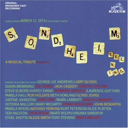 Stephen Sondheim, Getting Married Today, Piano, Vocal & Guitar (Right-Hand Melody)