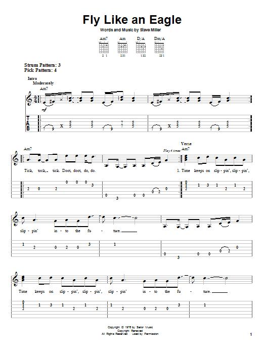 Fly Like An Eagle sheet music