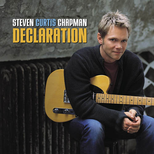 Steven Curtis Chapman, Live Out Loud, Piano, Vocal & Guitar (Right-Hand Melody)