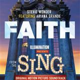 Download Stevie Wonder feat. Ariana Grande Faith sheet music and printable PDF music notes