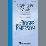Download Roger Emerson 'Stopping By Woods' printable sheet music notes, Poetry chords, tabs PDF and learn this SATB Choir song in minutes