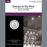 Download Stuart Gorrell and Hoagy Carmichael Georgia on My Mind (arr. Steve Jamison) sheet music and printable PDF music notes