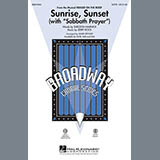 Download Mark Brymer 'Sunrise, Sunset (with Sabbath Prayer) - Guitar' printable sheet music notes, Wedding chords, tabs PDF and learn this Choir Instrumental Pak song in minutes