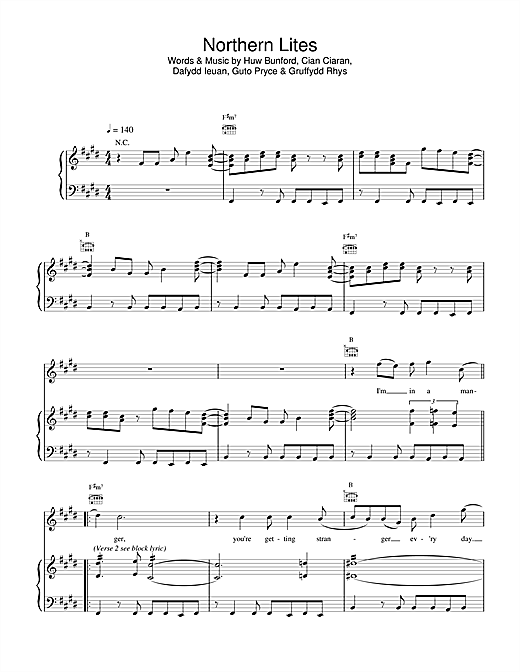 Northern Lites sheet music