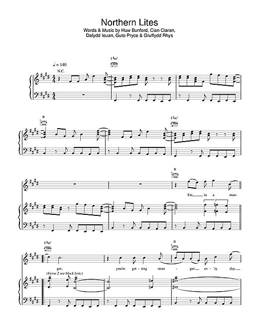 Northern Lites sheet music