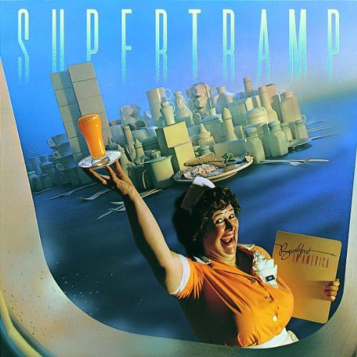 Supertramp, Breakfast In America, Piano, Vocal & Guitar (Right-Hand Melody)