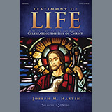 Download Joseph M. Martin 'Testimony of Life - Score' printable sheet music notes, Advent chords, tabs PDF and learn this Choir Instrumental Pak song in minutes