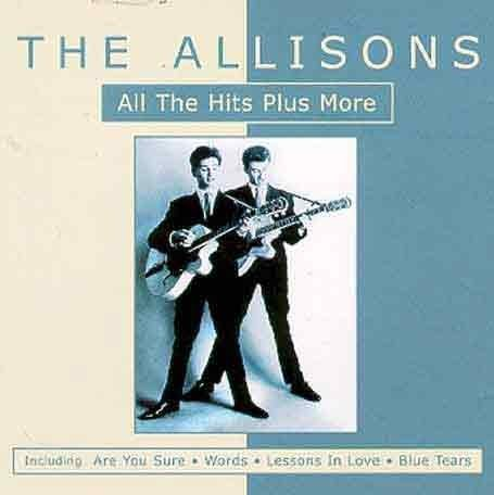 The Allisons, Are You Sure, Piano, Vocal & Guitar (Right-Hand Melody)