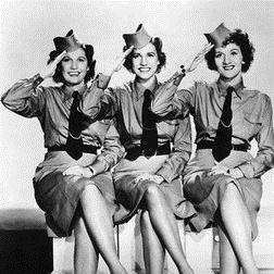 Download The Andrews Sisters 'I'll Be With You In Apple Blossom Time' printable sheet music notes, Jazz chords, tabs PDF and learn this Piano song in minutes