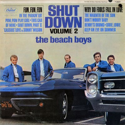 The Beach Boys, Fun, Fun, Fun, Piano, Vocal & Guitar (Right-Hand Melody)