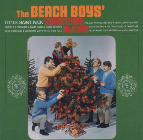 The Beach Boys, Merry Christmas, Baby, Piano, Vocal & Guitar (Right-Hand Melody)