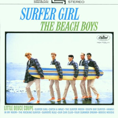 The Beach Boys, Surfer Girl, Piano, Vocal & Guitar (Right-Hand Melody)