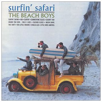 The Beach Boys, Surfin' Safari, Piano, Vocal & Guitar (Right-Hand Melody)