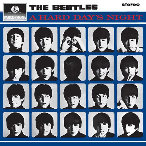 The Beatles, A Hard Day's Night, Melody Line, Lyrics & Chords