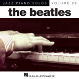 Download The Beatles 'Hey Jude [Jazz version] (arr. Brent Edstrom)' printable sheet music notes, Rock chords, tabs PDF and learn this Piano song in minutes