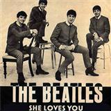 Download The Beatles 'She Loves You' printable sheet music notes, Rock chords, tabs PDF and learn this Piano song in minutes