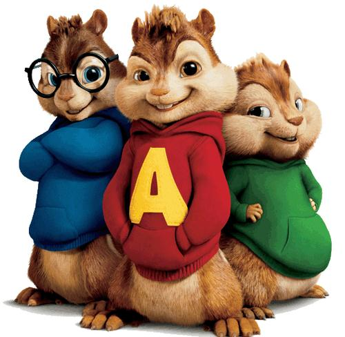 Alvin And The Chipmunks, The Chipmunk Song, Piano (Big Notes)