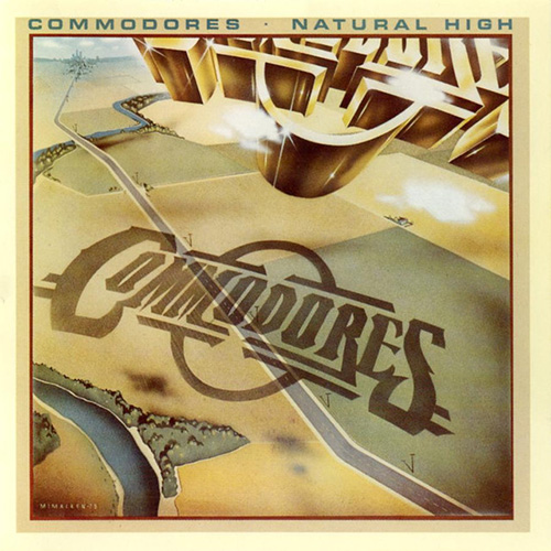 The Commodores, Three Times A Lady, Easy Piano