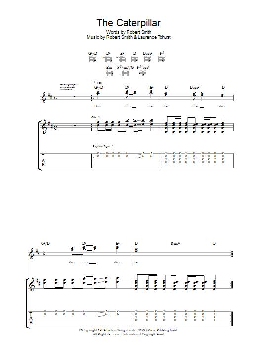 The Caterpillar sheet music