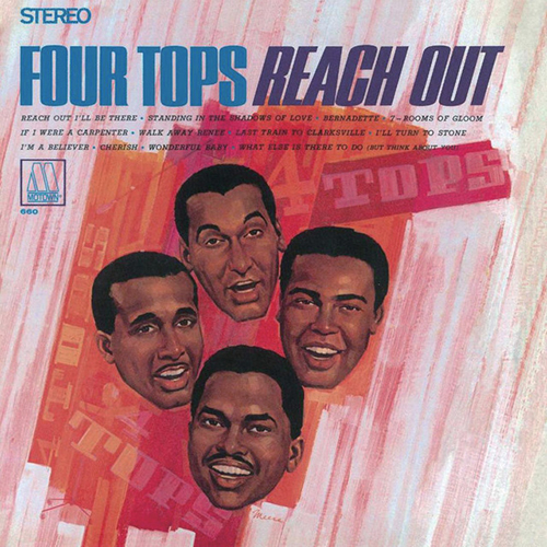 The Four Tops, Bernadette, Piano, Vocal & Guitar (Right-Hand Melody)