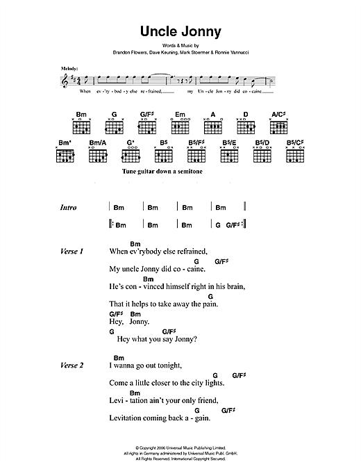 Uncle Jonny sheet music