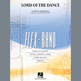 Download Johnnie Vinson 'The Lord Of The Dance - Pt.3 - Eb Alto Sax/Alto Clar.' printable sheet music notes, Celtic chords, tabs PDF and learn this Concert Band song in minutes