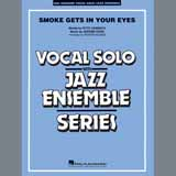 Download The Platters Smoke Gets In Your Eyes (arr. Roger Holmes) - Conductor Score (Full Score) sheet music and printable PDF music notes