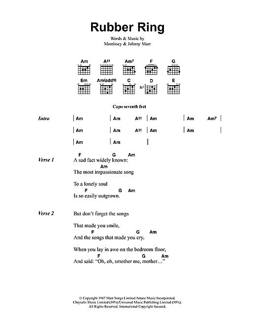 Rubber Ring sheet music