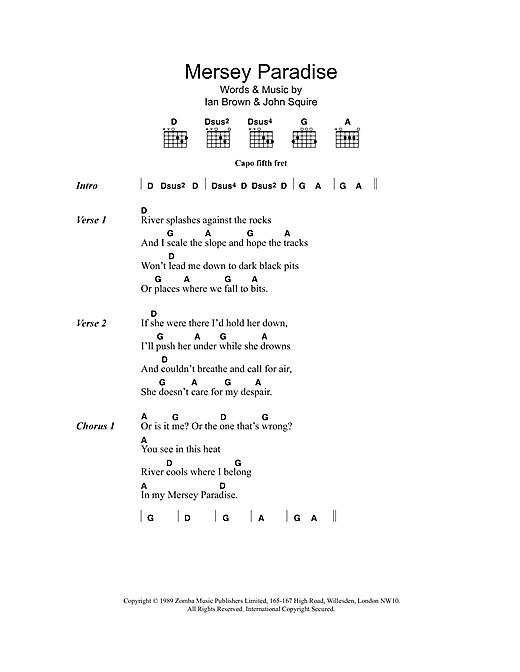 Mersey Paradise sheet music
