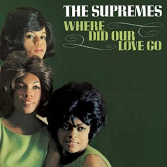 The Supremes, Where Did Our Love Go, Piano, Vocal & Guitar (Right-Hand Melody)