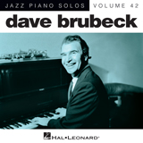 Download Dave Brubeck 'The Trolley Song [Jazz version]' printable sheet music notes, Jazz chords, tabs PDF and learn this Piano song in minutes