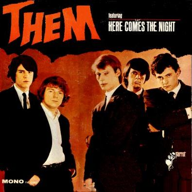 Them, Here Comes The Night, Piano, Vocal & Guitar
