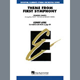 Download Harvey Whistler 'Theme from First Symphony - Violin 2' printable sheet music notes, Classical chords, tabs PDF and learn this Orchestra song in minutes
