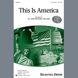 Download Jill and Michael Gallina 'This Is America' printable sheet music notes, Folk chords, tabs PDF and learn this 3-Part Mixed song in minutes