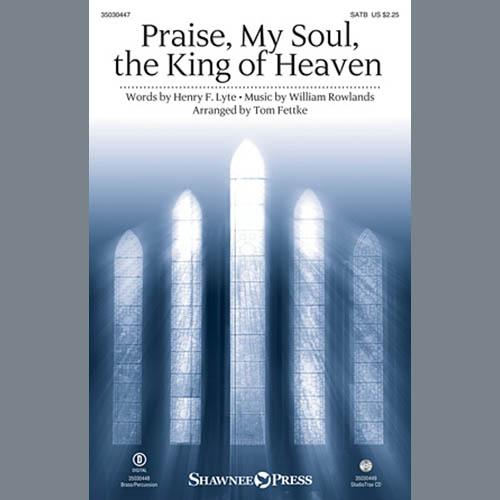 Tom Fettke, Praise, My Soul, The King of Heaven - Full Score, Choir Instrumental Pak