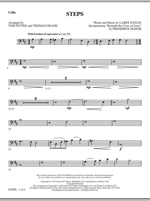 Steps - Cello sheet music