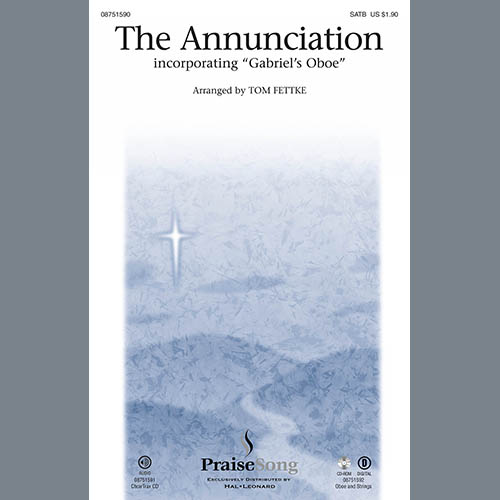 The Annunciation (incorporating Gabriel's Oboe) - Keyboard String Reduction sheet music