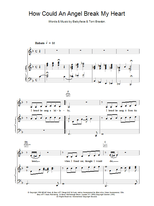 How Could An Angel sheet music