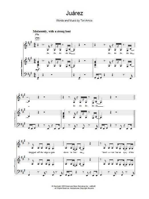 Juarez sheet music
