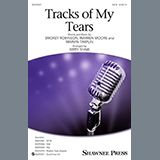 Download Linda Ronstadt 'Tracks Of My Tears (arr. Kirby Shaw)' printable sheet music notes, Pop chords, tabs PDF and learn this SAB Choir song in minutes
