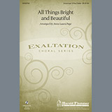 Download Traditional All Things Bright And Beautiful (arr. Anna Laura Page) sheet music and printable PDF music notes